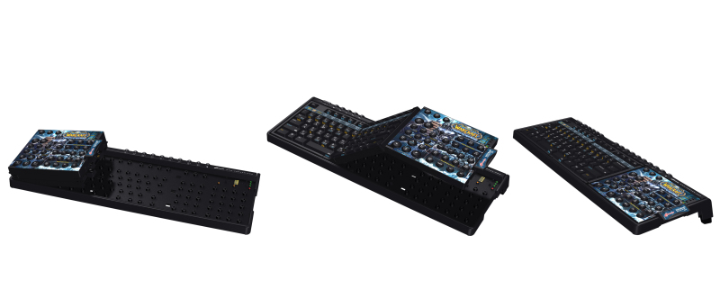 Цифровой блок заменили набором клавиш