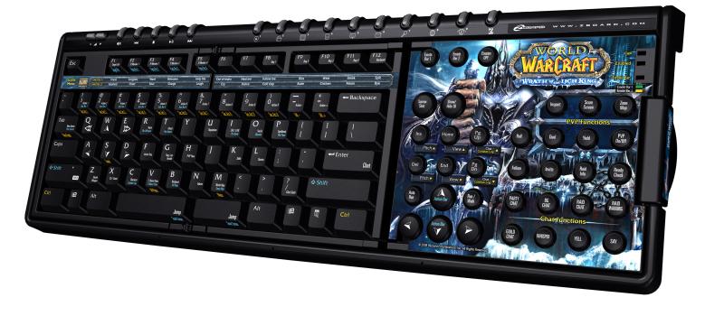 обзор игровой клавиатуры SteelSeries zBoard Warth of the Lich King Exclusive