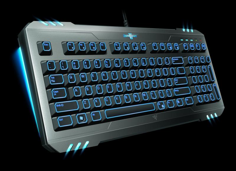 Клавиатура Razer Marauder starcraft 2
