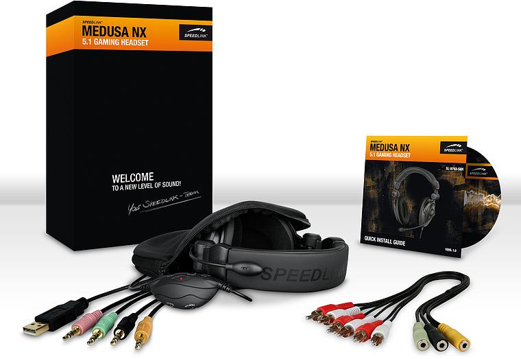комплектация Speedlink Medusa NX