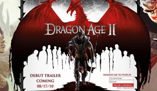 Dragon Age 2 выйдет в марте 2011
