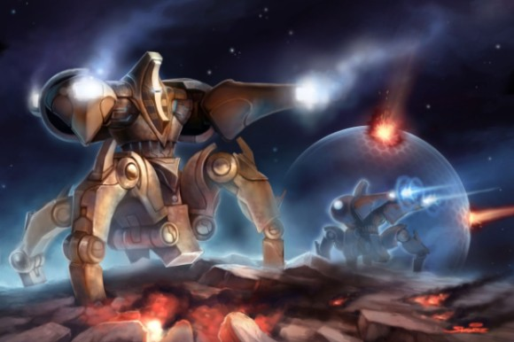 Юниты в starcraft 2