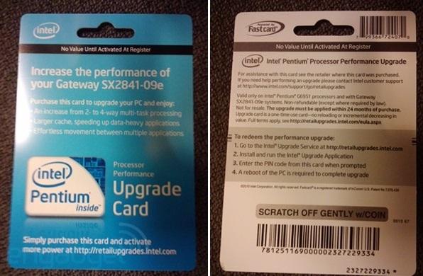 Вот как выглядит CPU Upgrade Card