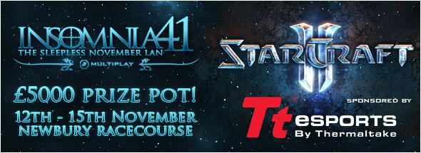 Крупный LAN-турнир по StarCraft 2 в Англии