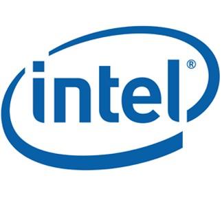 intel logo blue