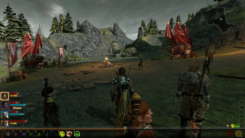 Dragon Age 2: лагерь долийцев