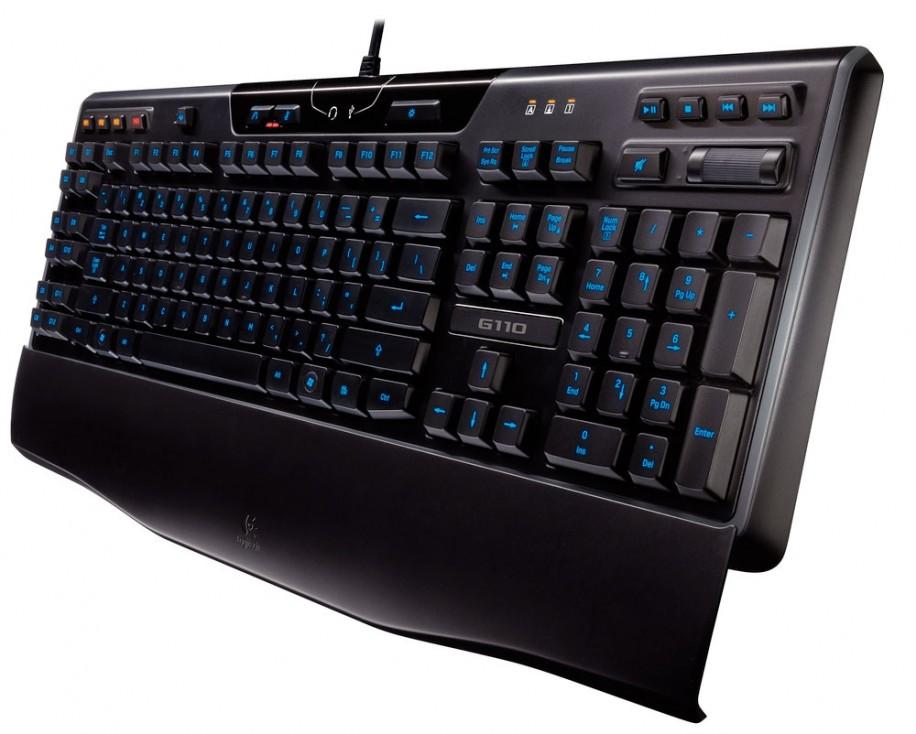 Logitech G110 обзор клавиатуры с подсветкой