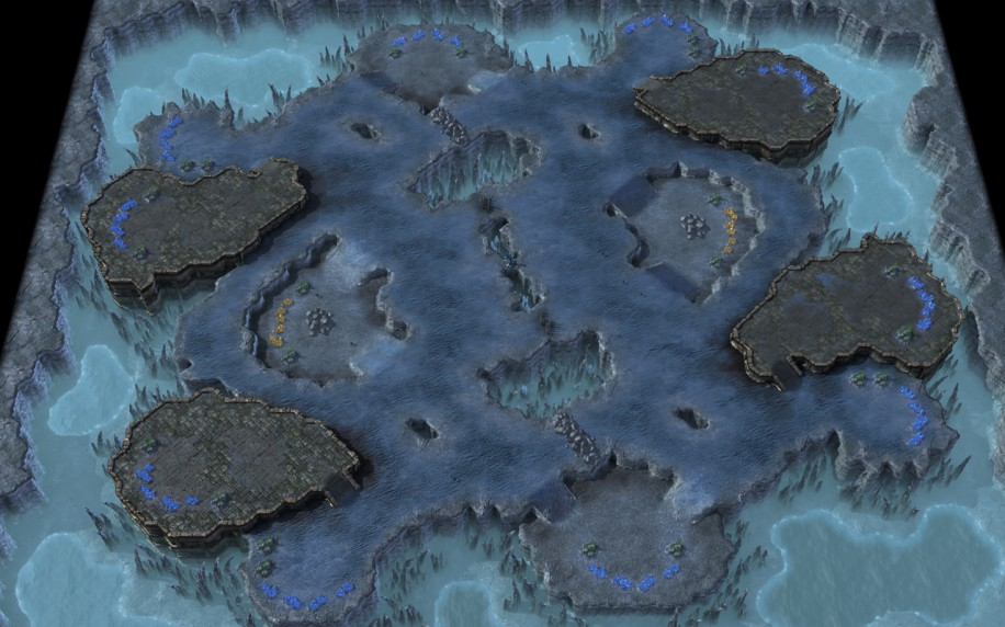 Starcraft 2 map: Normal 2