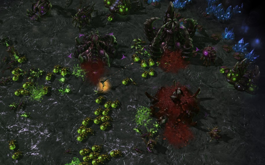 heart of the swarm screenshot 2
