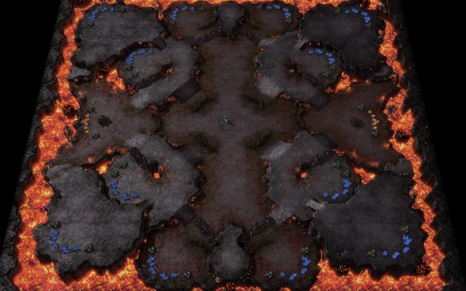 Starcraft 2 map: Normal 1
