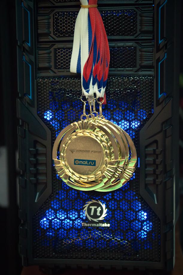 Турнир двух городов от Mail.Ru Group и Thermaltake: медальки