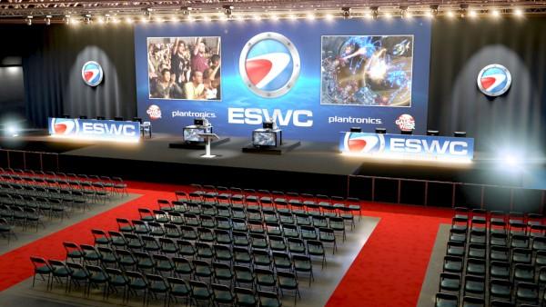 И еще один ракурс все той же сцены ESWC 2011