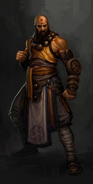 Монах, он же Monk из Diablo 3