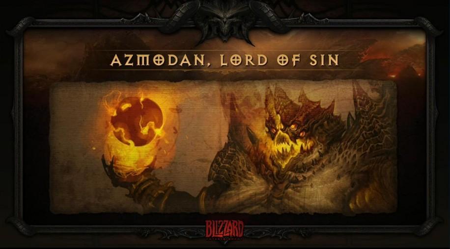 Один из сильнейших демонов Diablo 3, Азмодан