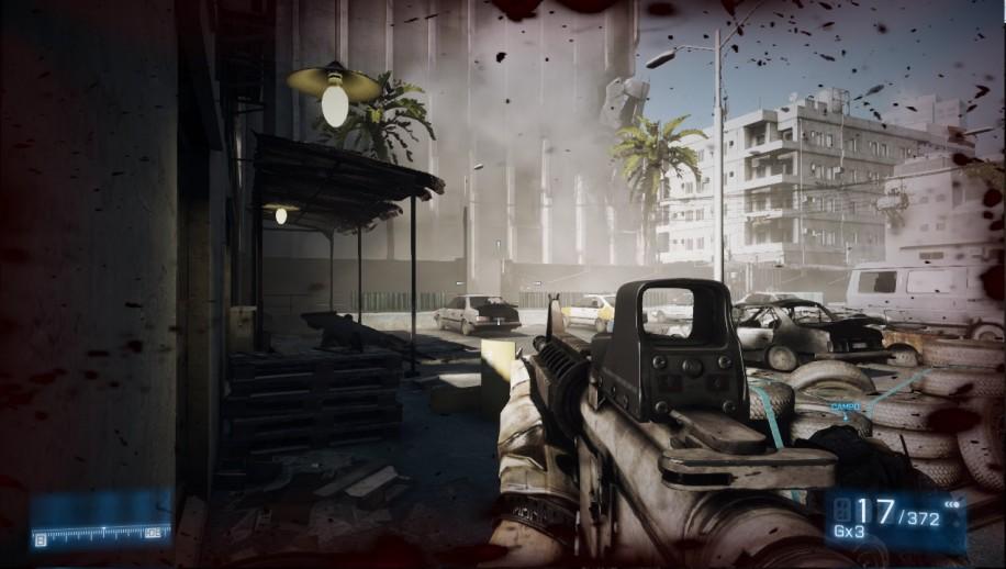 Типичный кадр из Battlefield 3