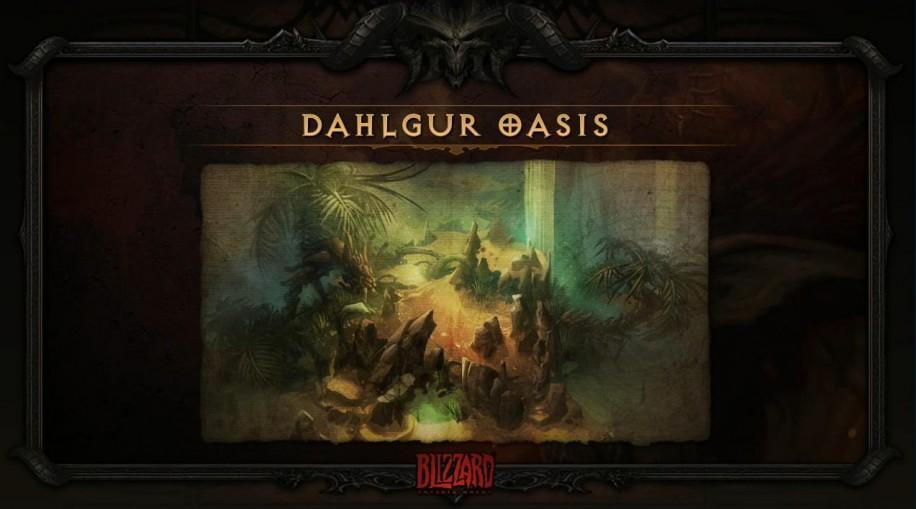 Оазис Далгур из Diablo 3