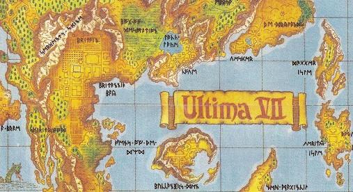Виртуальная картография: карты и воспоминания