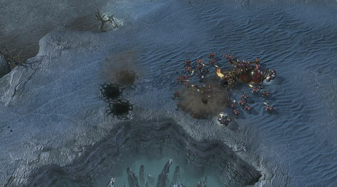 Starcraft 2: heart of the Swarm - Ultralisk
