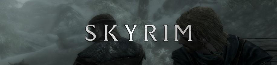 Первые кадры Skyrim
