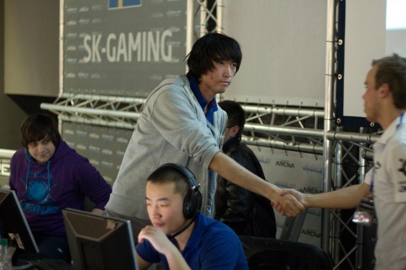 Рукопожатие после матча