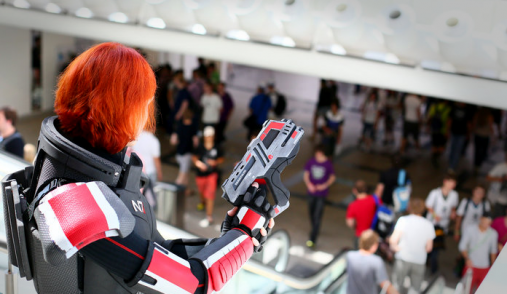 mass effect cosplay