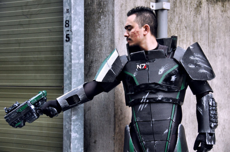 mass effect cosplay 3