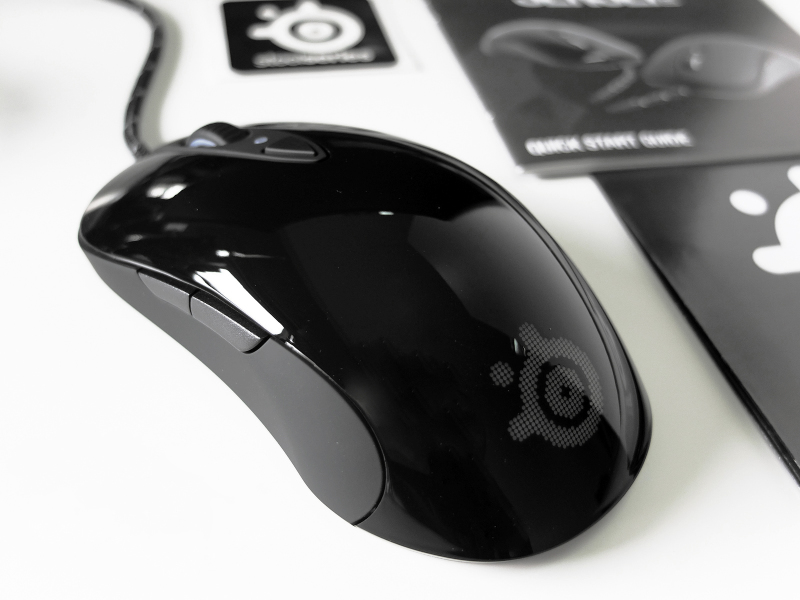 SteelSeries Sensei RAW глянцевая