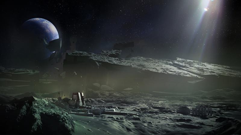 вид со спутника планеты