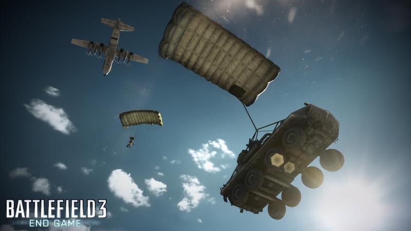 грузовой самолет C-130 может выбросить бронетранспортер под вашим командованием в самую гущу событий: так действует настоящий спецназ