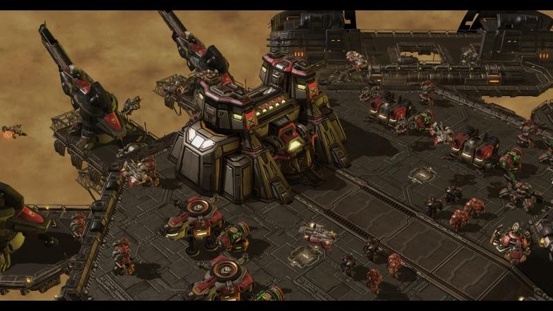 HotS: крепость Ворфилда