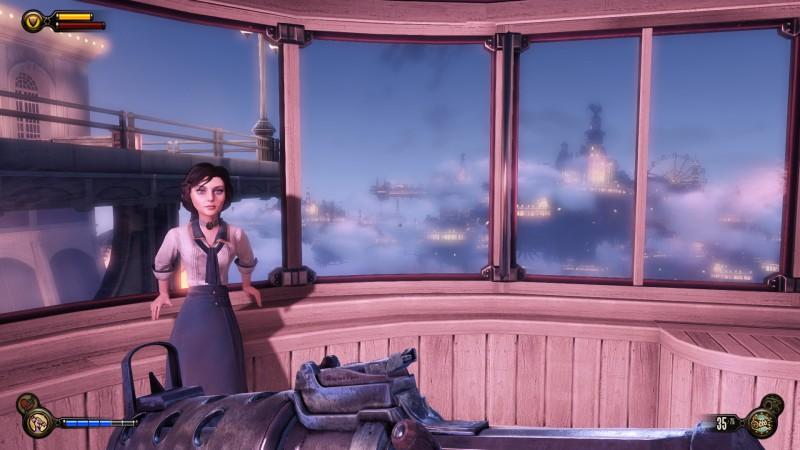 Суть Bioshock Infinite в одном скриншоте.