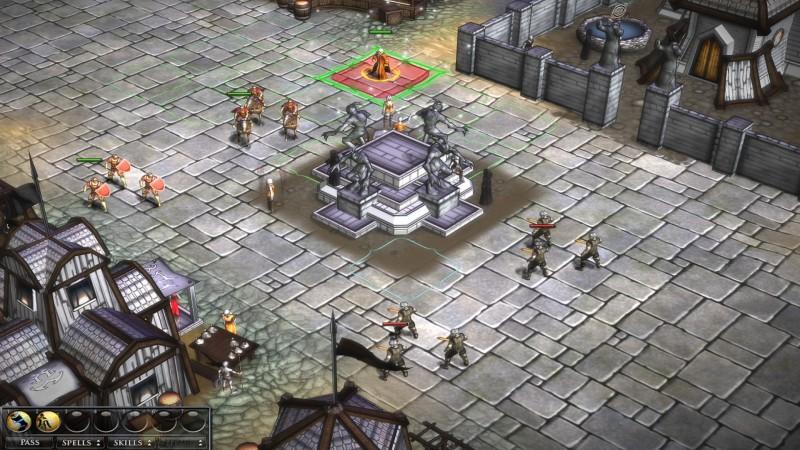 Legendary Heroes бой
