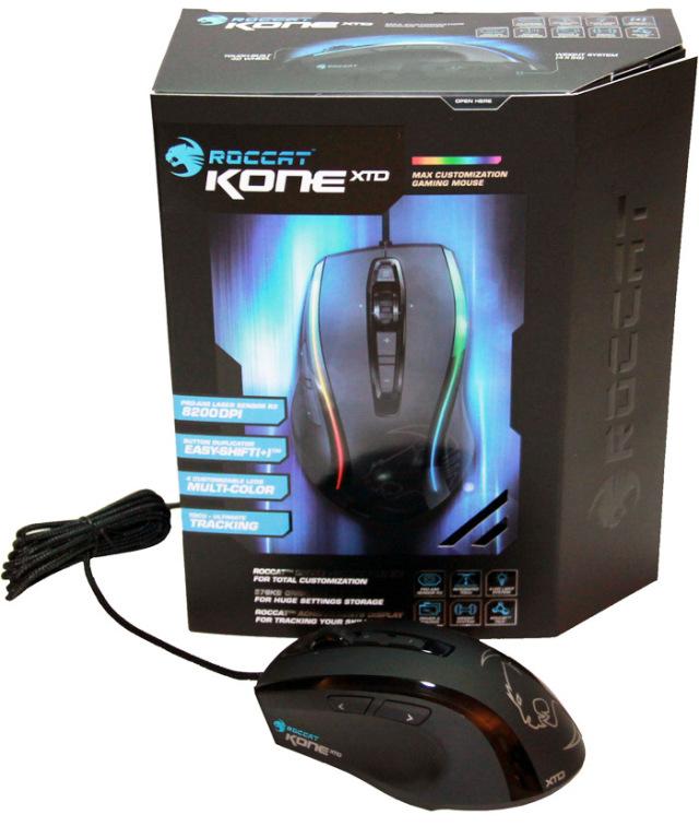 ROCCAT Kone XTD 7 box
