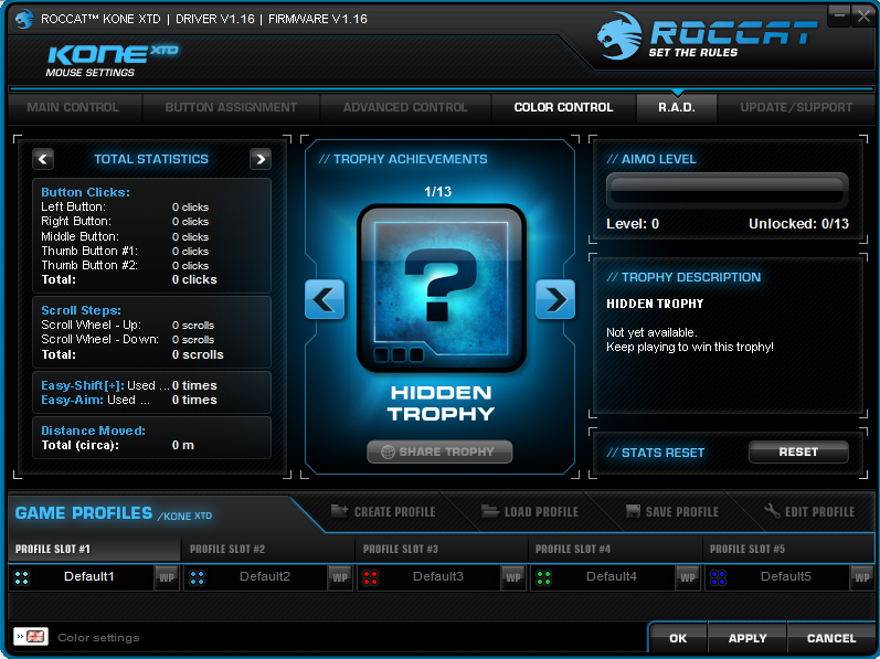 ROCCAT Achievements Display