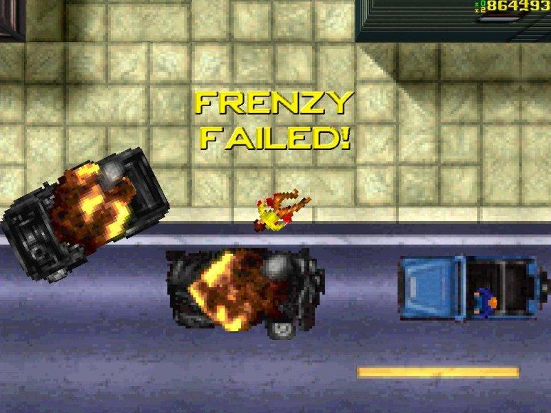 frenzy failed