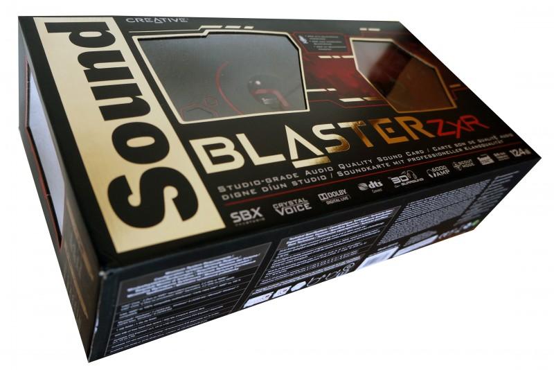коробка с звуковой картой zxr