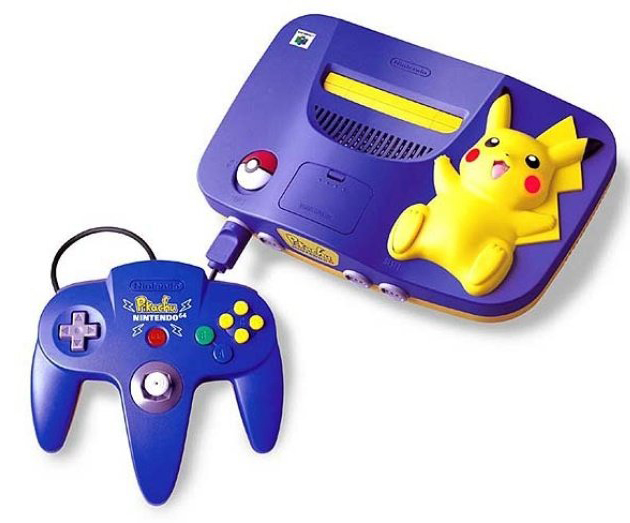 Hey You Pikachu N64