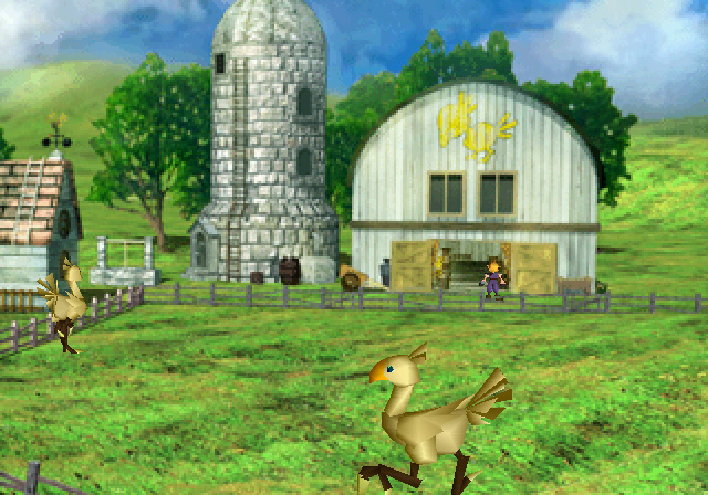 ферма Чокобо