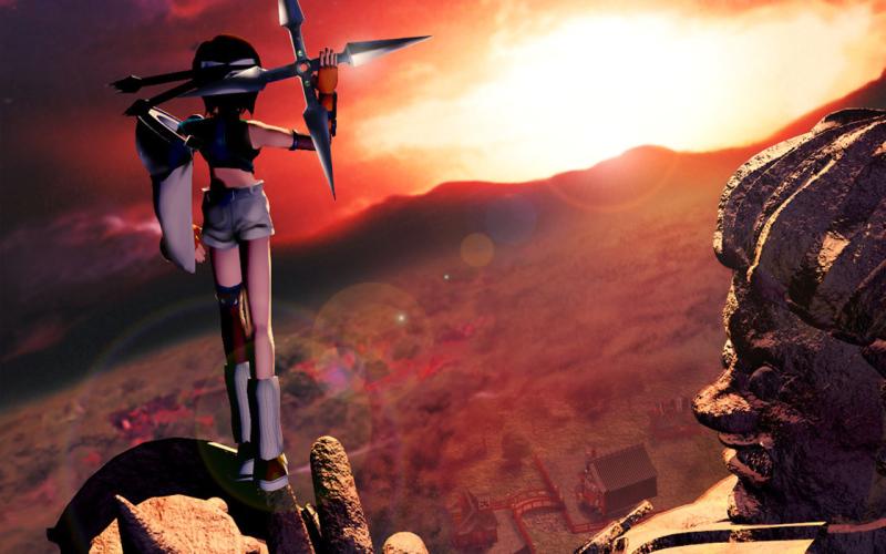 Интересный момент насчёт рекламирования Final Fantasy 7 – единственными показанными скриншотами были эти CG-рендеры, которые не имеют абсолютно никакого отношения к самой игре.