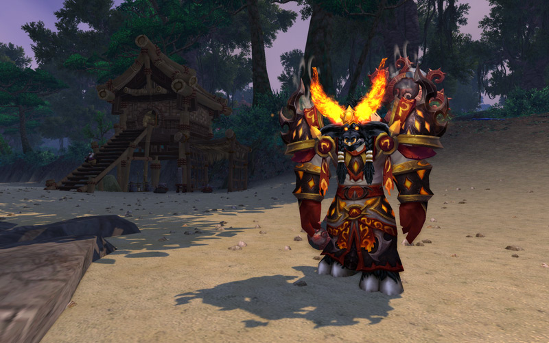 Firelord cosmetic helm