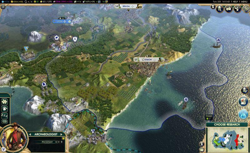 brave new world и археология