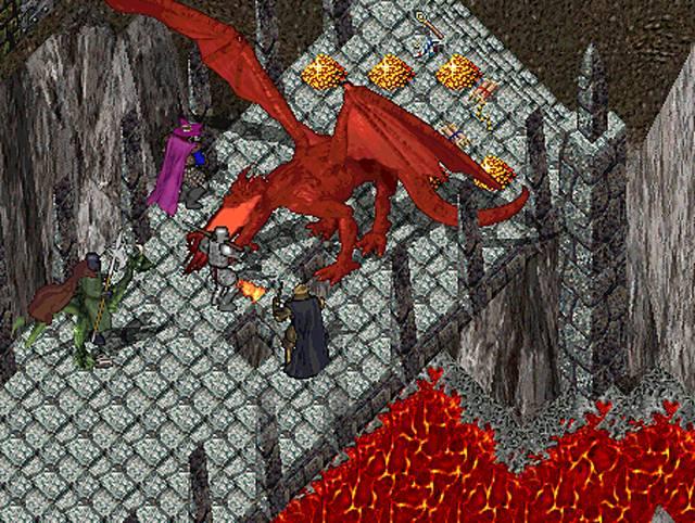 Торговля пикселями, Ultima Online