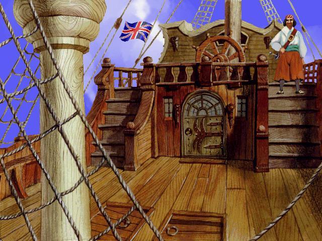 sea legends под английским флагом