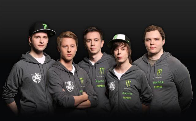 Новоиспечённые чемпионы мира — шведы Alliance
