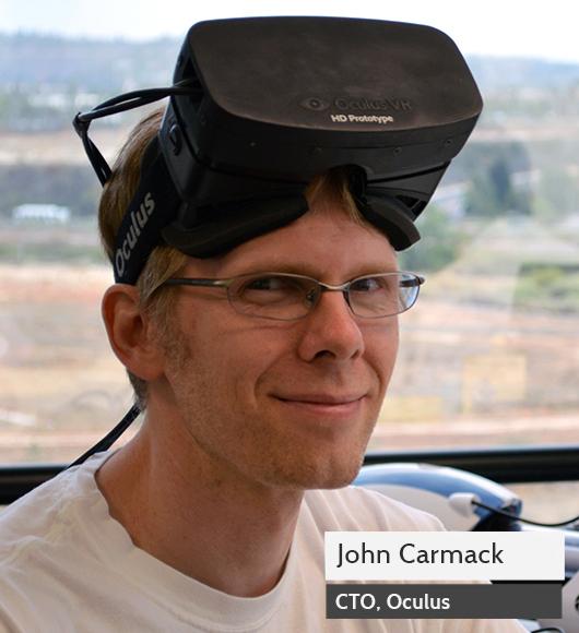 Кармак главный по виртуальной реальности