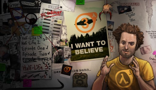 half life  i want to believe