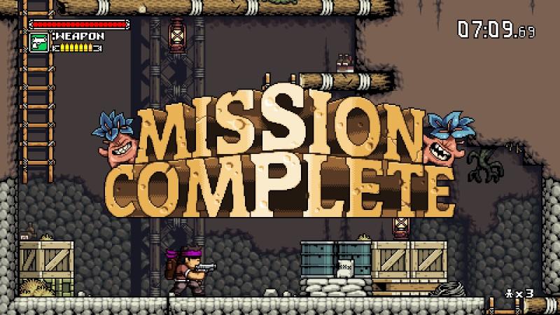 mk: mission complete