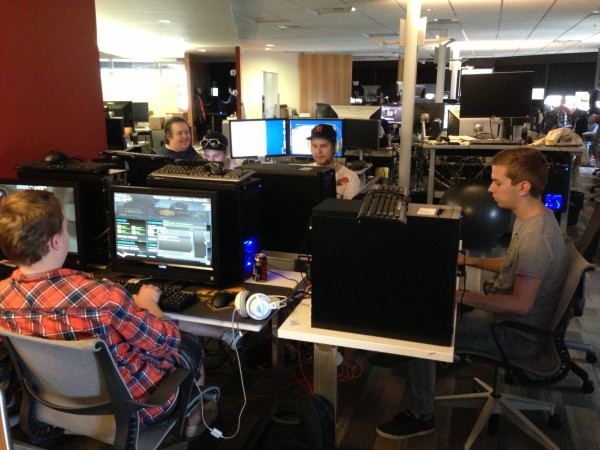 NiP тестируют новые штучки в CS:GO. Даллас, США.