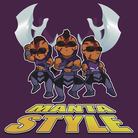 Arcs of manta style