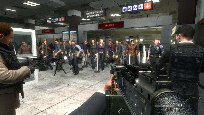 запрещенная сцена cod в аэропорту